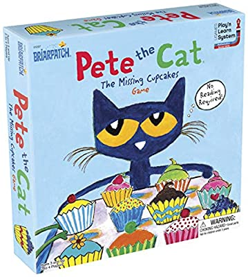 Briarpatch Pete The Cat The Missing Cupcakes Game Based On The Popular Book Series