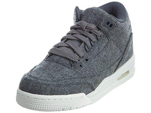 Nike Nike Herren 861427-004 Fitnessschuhe, Grau (Dark Grey/Dark Grey/Sail), 36 EU