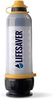 LifeSaver Bottle アウトドア/緊急用 携帯浄水器 99.9999%細菌除去 4000L 1分2L 英陸軍仕様 日本語取説 新ロゴ