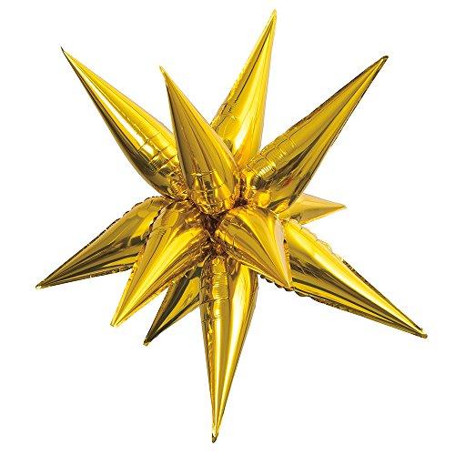 Unique Industries party decoration, Large, Gold