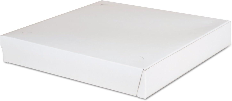 Save money Lock-Corner Pizza Boxes 12 Animer and price revision x 1 8 White 100 Carton 7 ESS