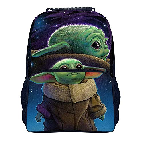 Yo-da Trendy Travel Backpack for Men Women Classic 16 Inches School Backpacks for Students (15.7×11Inches)