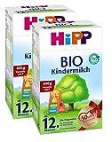 Hipp Bio Kindermilch - ab dem 12. Monat, 2er Pack (2 x 800g) -