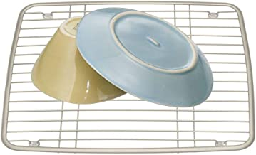 InterDesign Axis Kitchen Sink Protector Grid - Satin