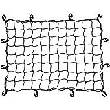 life_mart カーゴネット 90×120cm ラゲージネット トランクネット ルーフラック ネット キャリアネット 伸縮性 荷物固定 荷崩れ防止