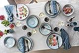 Tafelservice Darwin 12 teiliges Geschirr-Service für 4 Personen aus Steingut, Speise-, Dessertteller und Schalen, erweiterbar, Alltag, besonderes Dinner, Frühstück, Outdoor Teller Set von Sänger - 2