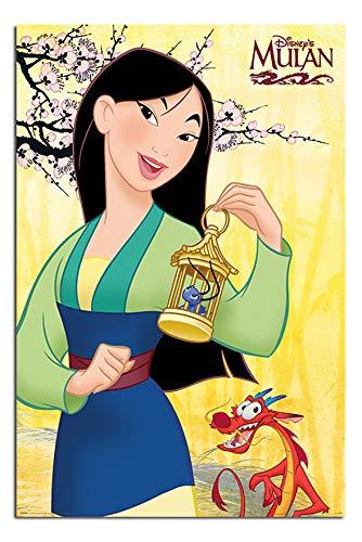 Mulan Disney Blossom Poster Glänzend Laminiert - 91.5 X 61cms (36 x 24 Inches)