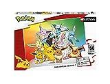 Nathan- Puzzle 150 pièces-Evoli et SES évolutions/Pokémon Bambini, Colore, 4005556860302