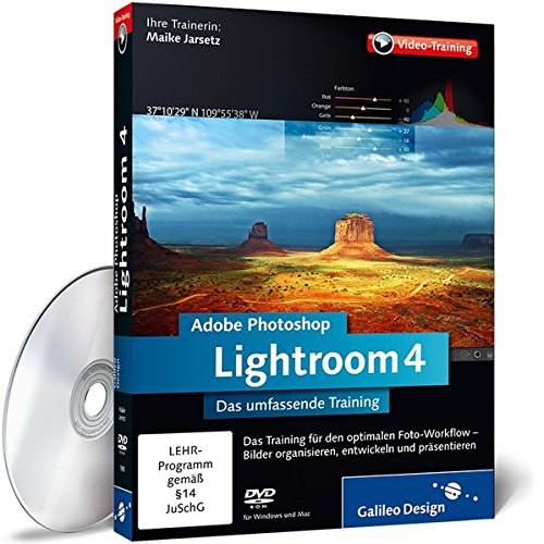 Adobe Photoshop Lightroom 4 - Das umfassende Training [import allemand]