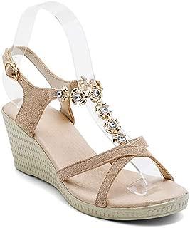 BalaMasa Womens ASL06795 Pu Platform Heels