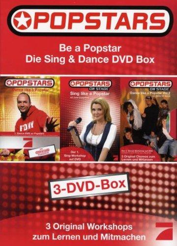 Be a Popstar: Die Sing und Dance Box (3 DVDs)
