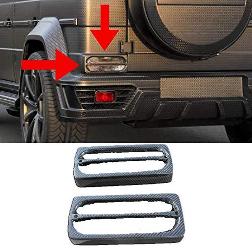 CARBON FIBER Rear Light Cover for Mercedes G WAGON W463, G63, G65, G500