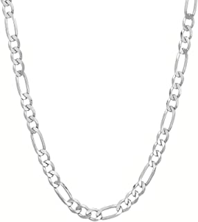 Best figaro chain silver mens Reviews