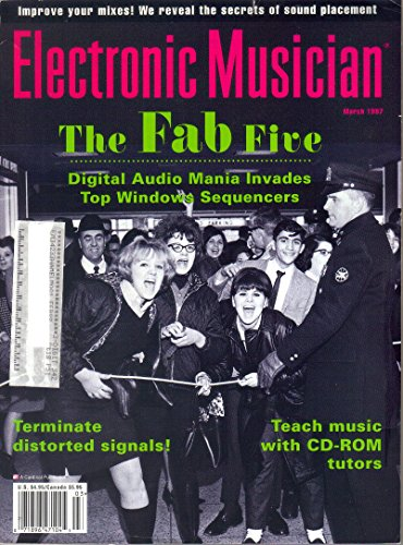 Electronic Musician Magazine, March 1997 (Vol. 13, Issue 3)