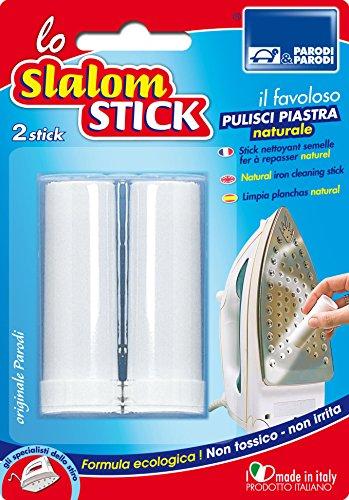 Parodi & Parodi Stick per la Pulizia della Piastra per Assi da Stiro, Bianco, 11 x 17 x 3 cm, 2 unità