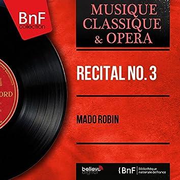 Récital no. 3 (Mono Version)