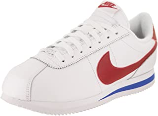 best service 41926 0f105 Nike Men s Classic Cortez Leather Casual Shoe (9) White Varsity Red