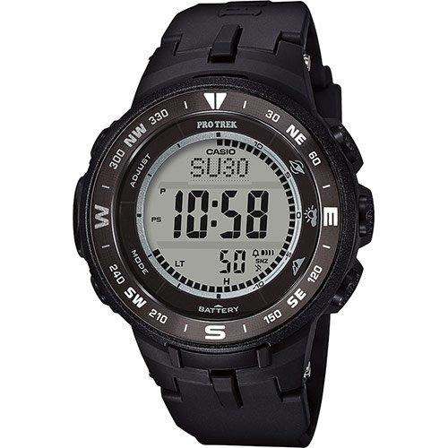 Casio Herren Digital Quarz Uhr mit Harz Armband PRG-330-1ER