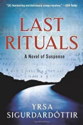 book cover for Last Rituals ~detective series set in Iceland