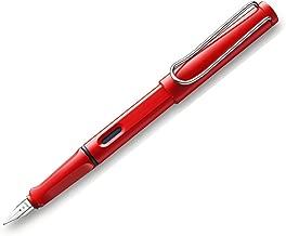 LAMY Safari Red Fountain Pen with Left Handed Nib