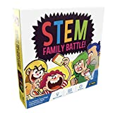 STEM Family Battle - A Family Board Game for Kids and Adults - Balanced Trivia Party Game for Your Family Game...