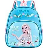 simyron Frozen Backpack Girl Frozen Girls School Mochila, Mochila Escolar Elsa, Mochila Princesa Disney, Mochila Viaje Escolar para Niñas Adolescentes, Regalo - Azul