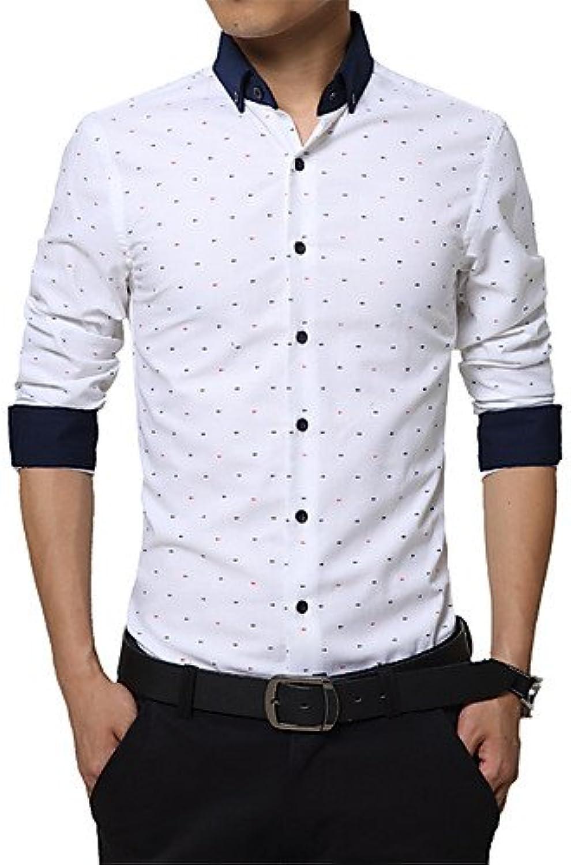 HAN-NMC Men'S Fashion Coat Qiu Dong Long Sleeve Shirt Trend The New Shirt Render Unlined Upper Garment