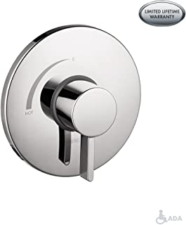 Hansgrohe 4233820 S Pressure Balanced Valve Trim with Integrated Volume Control, 6.75 x 6.75 x 3.00 inches, Brushed Nickel