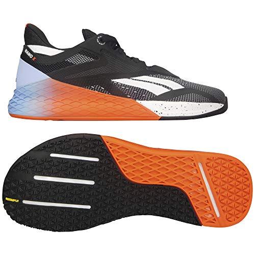 Reebok Nano X, Zapatillas de Running para Hombre, Black White Vivdor, 41 EU