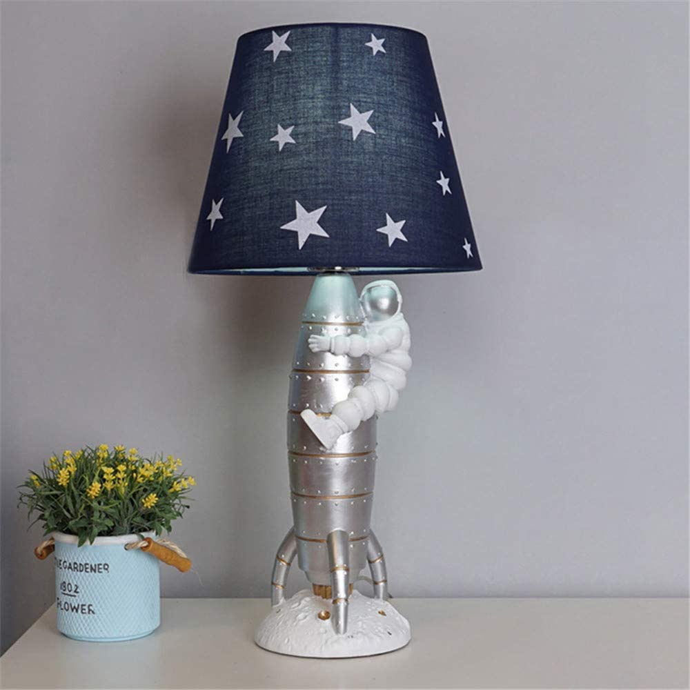 5% OFF BAYCHEER Silver Spaceman Hug The Table Rocket Fabric with Nippon regular agency Light