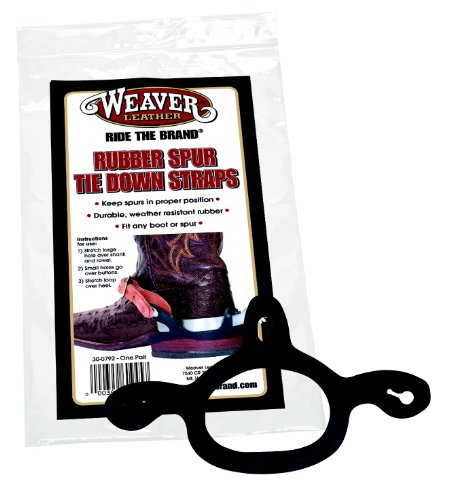 Weaver Leather Rubber SPUR TIE Down Straps