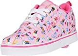 Heelys Girl's Pro 20 Prints (Little Kid/Big Kid/Adult) Light Pink/Pink/Rainbow 13 Little Kid