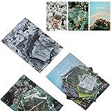 300 Piezas Pegatina para Scrapbooking, Pegatinas Adhesivas Material Scrapbooking Vintage Papel...