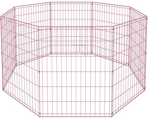 BestPet 36 Tall Dog Playpen Crate Fence Pet Kennel Play Pen Exercise Cage
