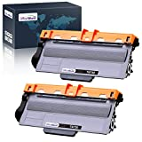 OfficeWorld Compatible Toner Cartridge Replacement for Brother TN750 TN-750 TN720 TN-720, Work with Brother HL-5470DW HL-5450DN HL-6180DW MFC-8710DW MFC-8910DW MFC-8950DW (Black, High Yield, 2-Pack)