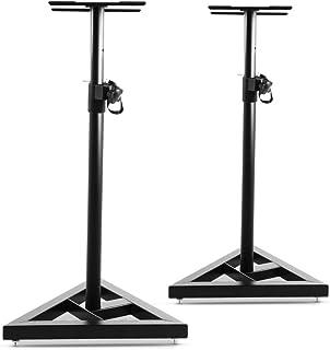 Adjustable Height Stand for Speaker- Black