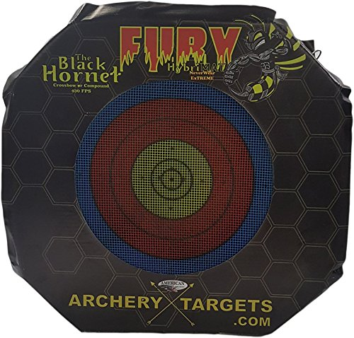 Black Hornet Archery Target by American Whitetail Inc. for Compound and Crossbows, Black