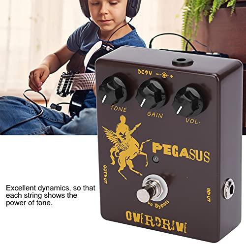Pedal De Efectos, Mini Pedal De Guitarra Portátil Ajustable Con Efecto Para Principiantes Para Guitarra Y Bajo