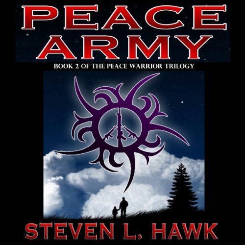 Peace Army audiobook cover art
