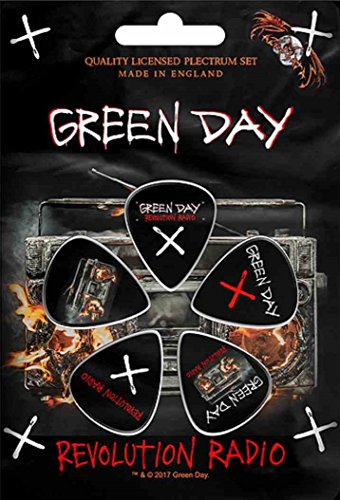 Green Day Revolution Radio Plektrum Pack