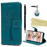 Huawei P10 Lite Case Mavis's Diary Wallet Case PU Leather