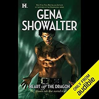Heart of the Dragon audiobook cover art