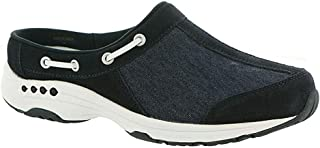 Womens Travelport Fabric Closed Toe Walking Slide, Navy, Size 10.0