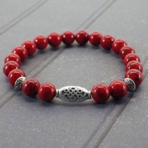 Bracelet pour femme Thurcolas ethnique Zen avec perles en...