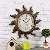 FirsTime & Co. Sundeck Outdoor Clock, American...
