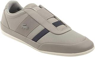 Lacoste Men's Sneaker Misano Elastic 318 1 U Grey/Navy 9 M US