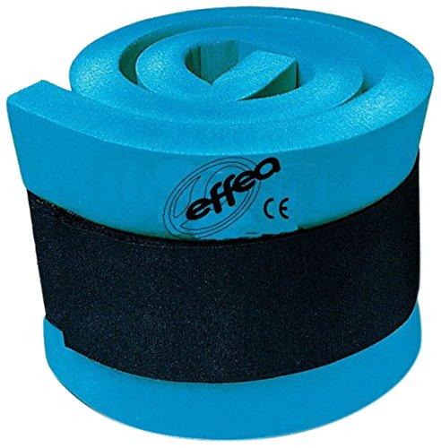 EFFEA 482 Pulsera lastrada para aquagym, Color Azul