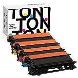 TonTon Remanufactured Toner Cartridge Replacement for Brother TN115, TN115BK, TN115C, TN115M, TN115Y, HL-4040CN, MFC-9440CN MFC-9450CDN MFC-9840CDW (BK, C, M, Y, 4 Pack).
