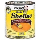 Rust-Oleum Zinsser 304H 1-Quart Bulls Eye Clear Shellac