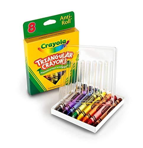 Crayola 8ct Triangular Crayons (4 Pack)